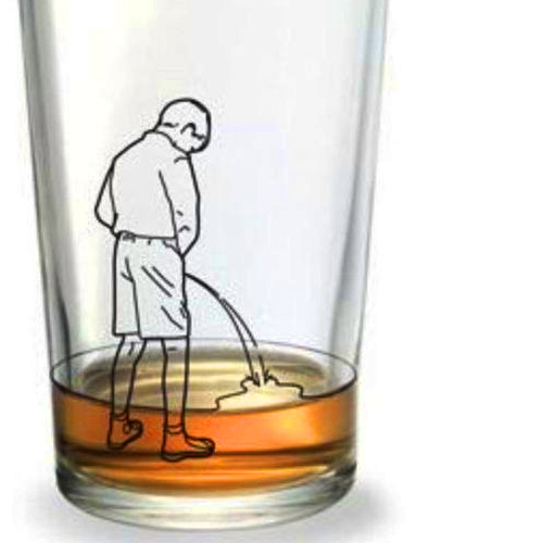pee-in-glass
